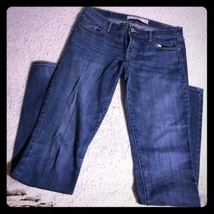 Abercrombie & Fitch Jeans Sz 2L Dark Wash